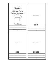 Clothes Cut-and-Paste Picture Dictionary_ Pages 1-4 - A Short Book to Print. EnchantedLearning.pdf