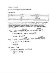 Sample Final Exam Solutions