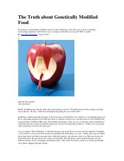 The Truth about Genetically Modified Food.pdf