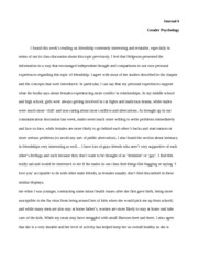 Gender Psych- Journal 6