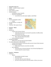 Chapter 3 Ancient Near Eastern Art ppt notes