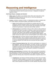 Reasoning and Intelligence (Ch. 10)