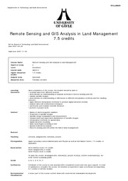 SB281C_Remote sensing and GIS analysis in LM