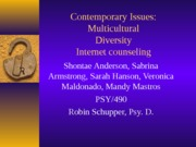 Contemporary Issues Presentation