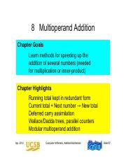 Chapter 08 Multioperand Addition.pdf