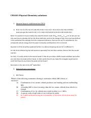 CA 2014 and quiz solutions