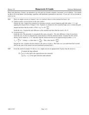 Homework 1 Solution on Electricand Magnetic Phenomena