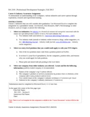 BA 2101 - Career  Industry Awareness Assignment -2013-2_Revised August 2013(1)