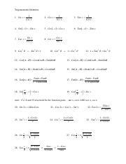 trig (2) pdf - Trigonometric identities tips and tricks