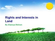 Class 4 Rights and Interests