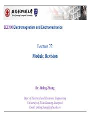 EEE108 Lectures22_Module Revision_Upload