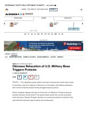 Yamamoto-2015-NBC-Okinawa Relocation of U.S. Military Bases Triggers Protestspdf