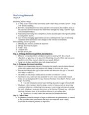 MKT100 Midterm-Formula sheet - MKT 100 Midterm 1 Metrics