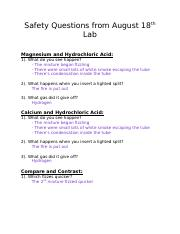 Safety Questions from August 18th Lab.docx