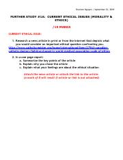 FURTHER STUDY 1A - CURRENT ETHICAL ISSUES.pdf