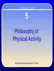 Chapter 5 - Philosophy 9-30-15