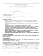 HUEC 3032 Fall 2013 syllabus