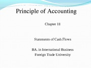 Chapter 11 Statements of cash flows_CLC