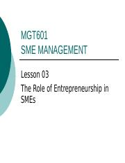 The Role of Entrepreneurship in SMEs.ppt