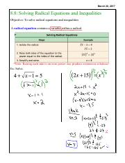 H. 8.8 Solving Radical Equations and Inequalities.pdf