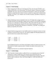 ACCT2060 Exam 3 - Review Notes