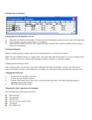 Selecting Items in Datasheet