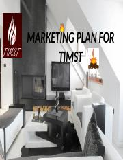 MARKETING PLAN FOR TIMST PPT.pptx