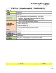 6 Modul Kerjaya Doc Hebat Bacaan Bahasa Melayu Modul 6 Kerjaya Strategi Pengajaran Dan Pembelajaran Unit 1 Tema Kerjaya Tajuk Resume Objektif Pada Course Hero