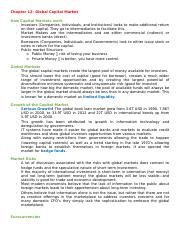 Chapter 12- Global Capital Market.docx