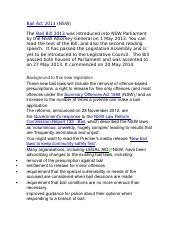 Bail Act 2013