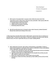 Principles of Management Assignment 2.docx