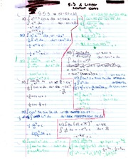 Ch 5.3 Questions and Linear Motion Notes