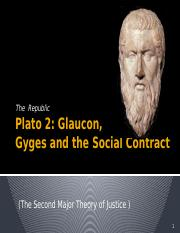 Plato 2 Gyges SC and Two Lives