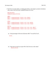 Printables Empirical Rule Worksheet empirical rule study resources 6 pages worksheet docx