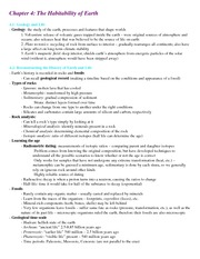Astronomy Lecture Notes Chapter 4 Notes