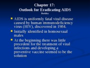 13- Chapter 17 (AIDS)
