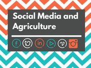 Social Media and Agriculture