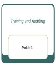 Training and Auditing (1).ppt
