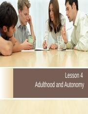 L4 - adulthood and autonomy (with examples in class)(1).ppt