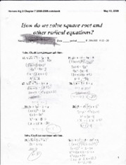 how do we solve square root and other radical equations_0001