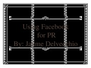 Public Relations Facebook Presentation