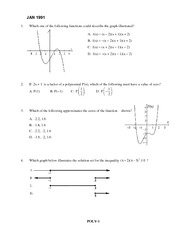 Polynomials Review Package