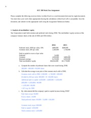 Week 2 Assignment