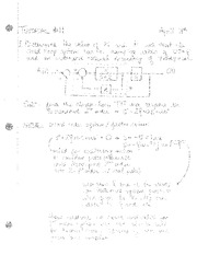 electronic Tutorial 11 Solutions