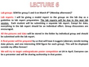 MTE 455 Lecture 6-7