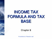 8 (Income Tax Formula and Tax Base)[1]