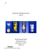 Halide Ions Reactivity Lab Report.docx