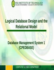 Module 4 - Logical Database Design and Relational Model.ppt