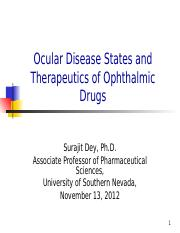 Clinical Ophthalmology Nov 13, 2012 - HD.ppt
