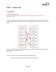 Life Sciences:Biology 11 WCLN - Unit 5 ~ Learning Guide Answer Key.pdf